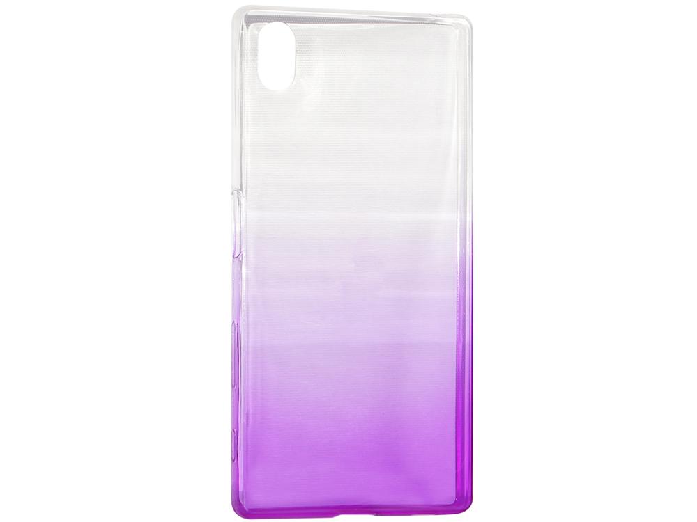 Крышка задняя для Sony Xperia Z5 Силикон Фиолетовый sony xperia z5