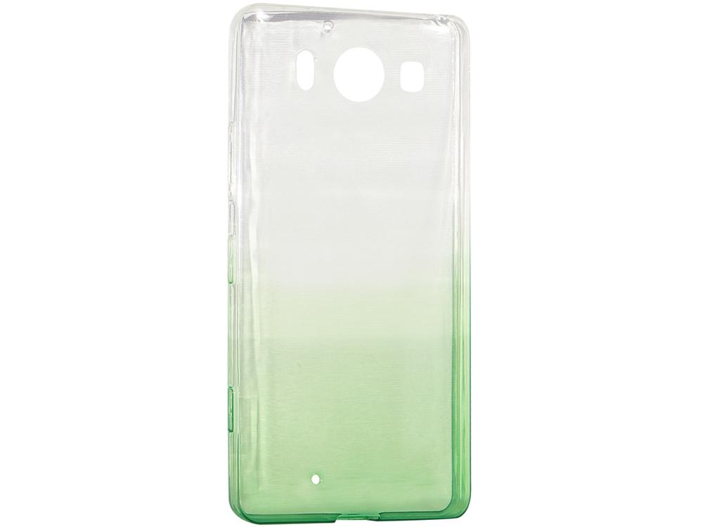 Крышка задняя для Nokia 950 Силикон Зелёный