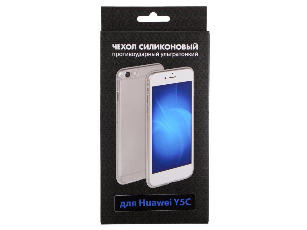Силиконовый супертонкий чехол для Huawei Y5C DF hwCase-19