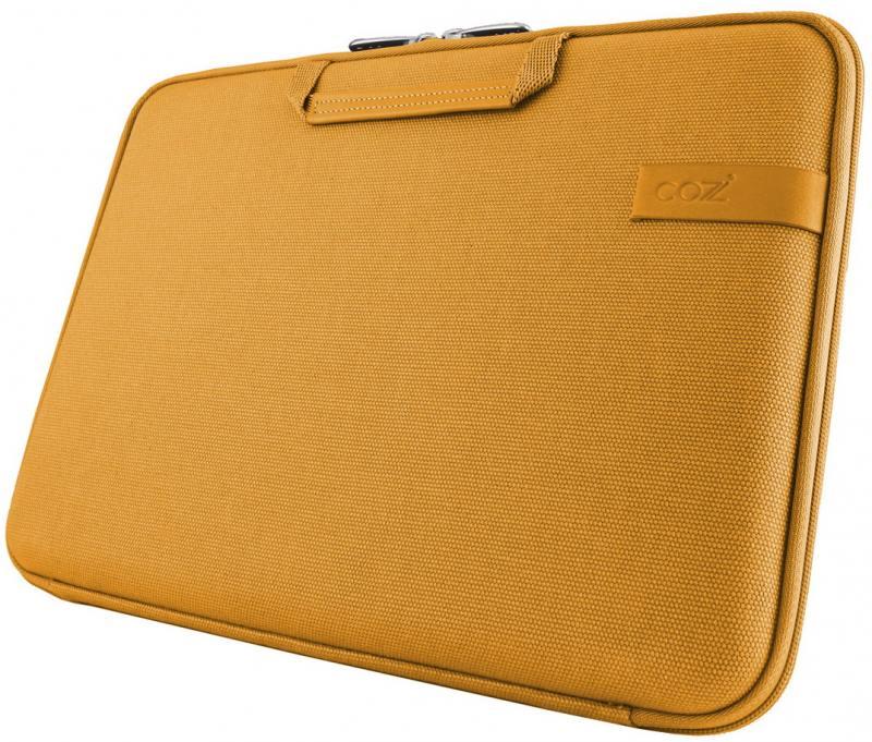 Чехол для ноутбука 13 Cozistyle Smart Sleeve хлопок кожа желтый CCNR1303 cozistyle cozistyle smart sleeve light green 11 зеленый хлопок