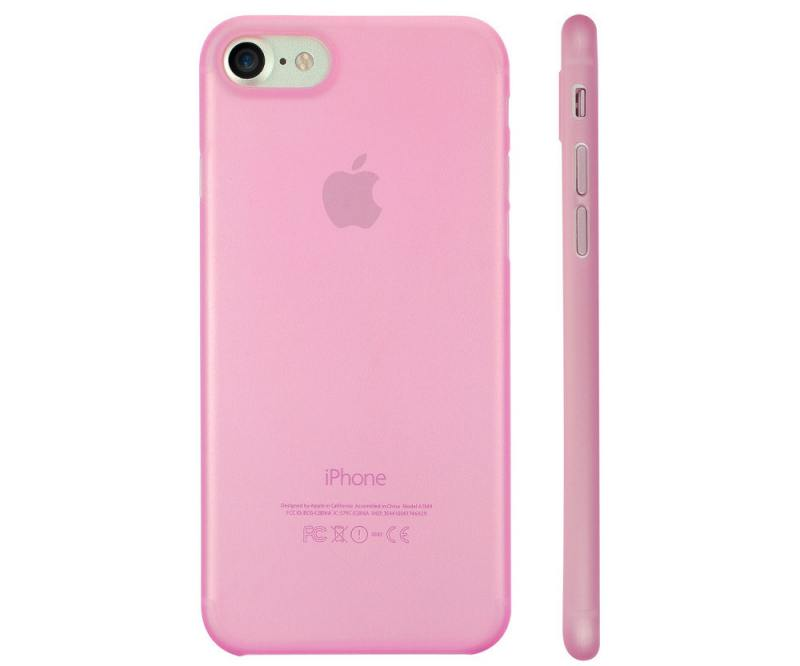 Накладка Ozaki O!coat 0.3 Jelly для iPhone 7 розовый OC735PK
