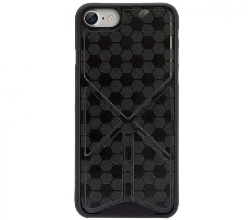 Накладка Ozaki O!coat 0.3+Totem Versatile для iPhone 7 чёрный OC777BK накладка ozaki 0 3 pocket для iphone 7 чёрный oc737bk