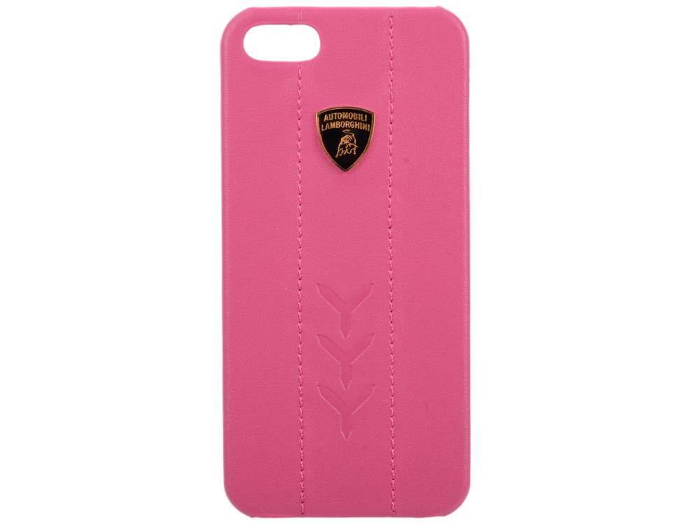 Чехол (клип-кейс) iMOBO Lamborghini Performate-D1 для iPhone 5 iPhone 5S розовый кожаный клип кейс для samsung galaxy s3 lamborghini performate d1 серый