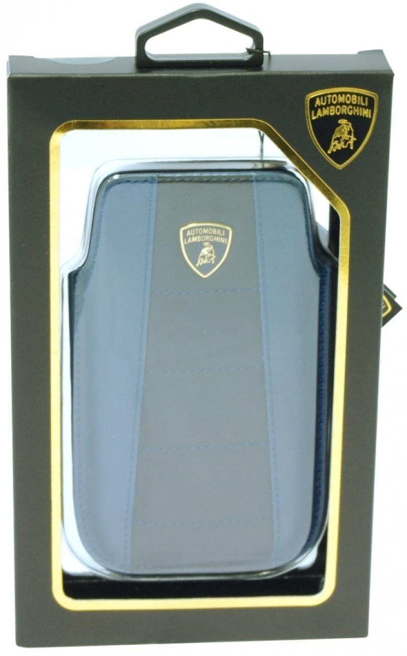 Чехол iMOBO Lamborghini Gallardo-D1 для iPhone 4S iPhone 4 чёрный синий