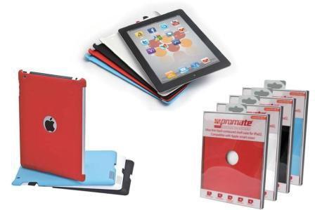 купить Накладка Promate SmartShell.1 для iPad 2 голубой IPAS303G дешево