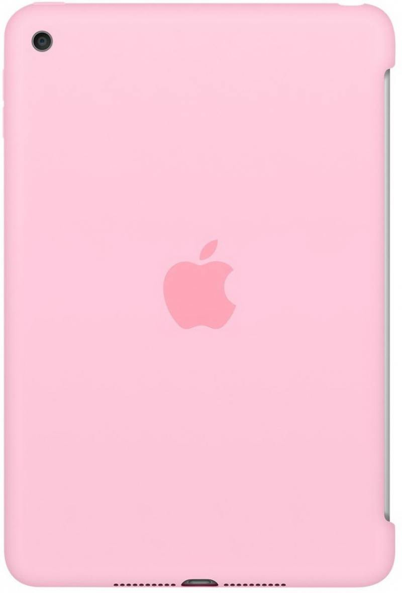 все цены на Чехол-накладка для iPad mini 4 Apple Silicone Case Light Pink MM3L2ZM/A клип-кейс, силикон онлайн