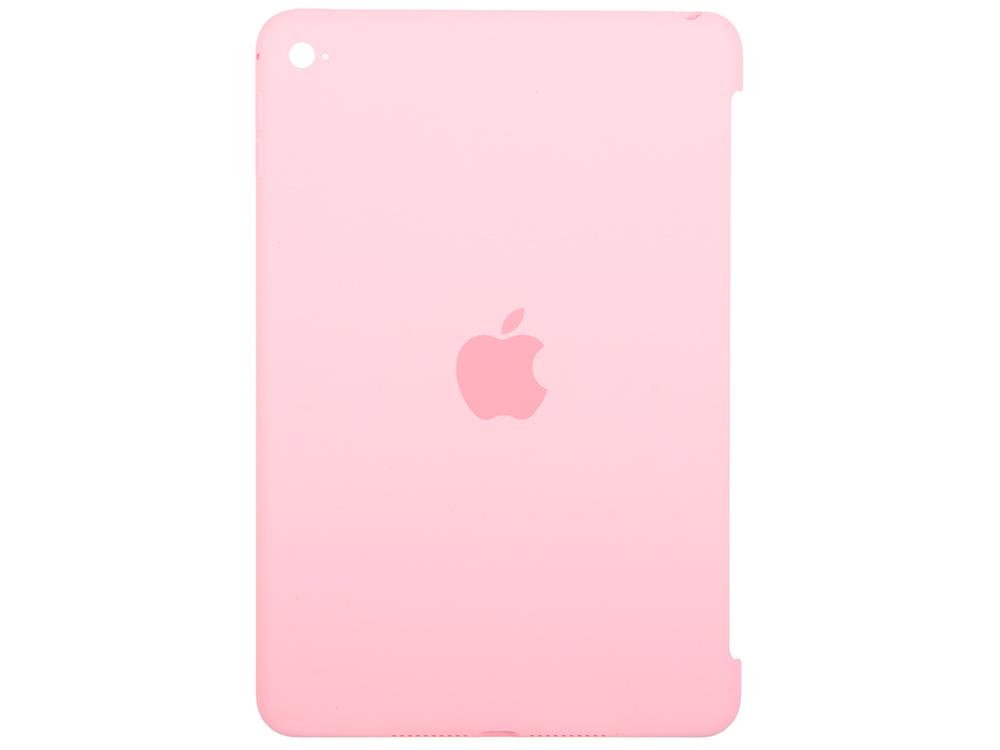 Чехол-накладка для iPad mini 4 Apple Silicone Case Light Pink MM3L2ZM/A клип-кейс, силикон