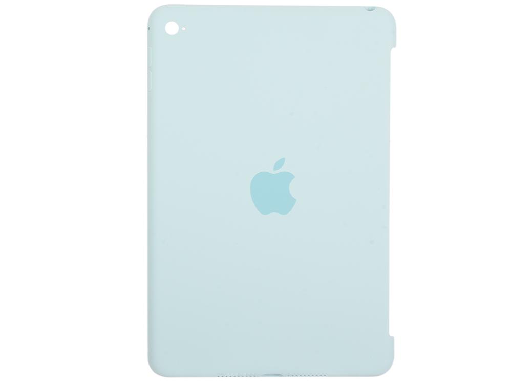 Чехол (клип-кейс) Apple Silicone Case для iPad mini 4 бирюзовый MLD72ZM/A