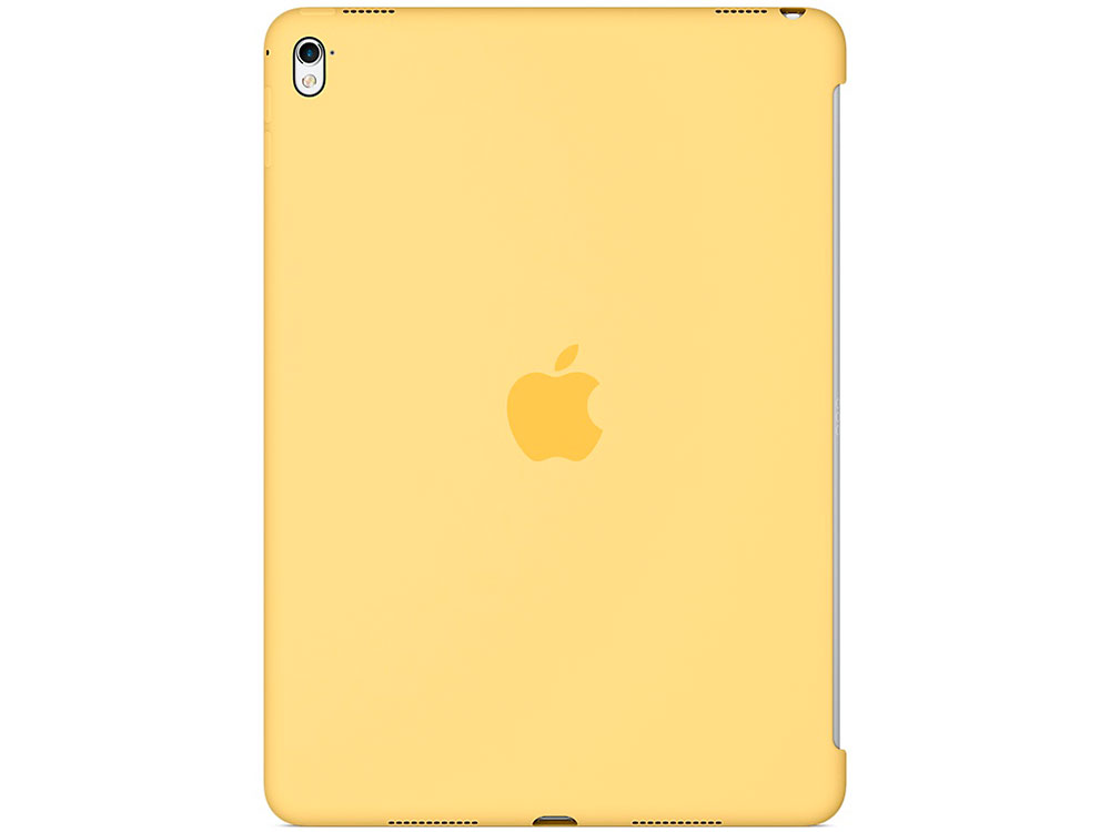 Чехол Apple Silicone Case для iPad Pro 9.7 желтый MM282ZM/A