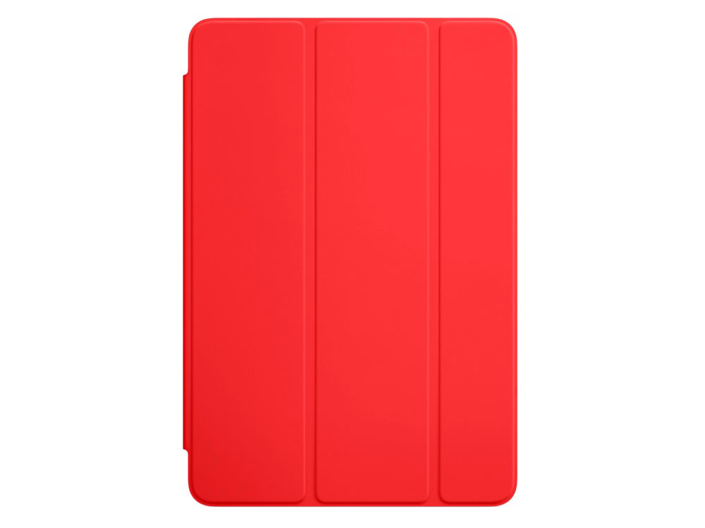Чехол-книжка Apple Smart Cover для iPad mini 4 красный MKLY2ZM/A qialino luxury smart stand flip cover case for ipad mini 4 wake up
