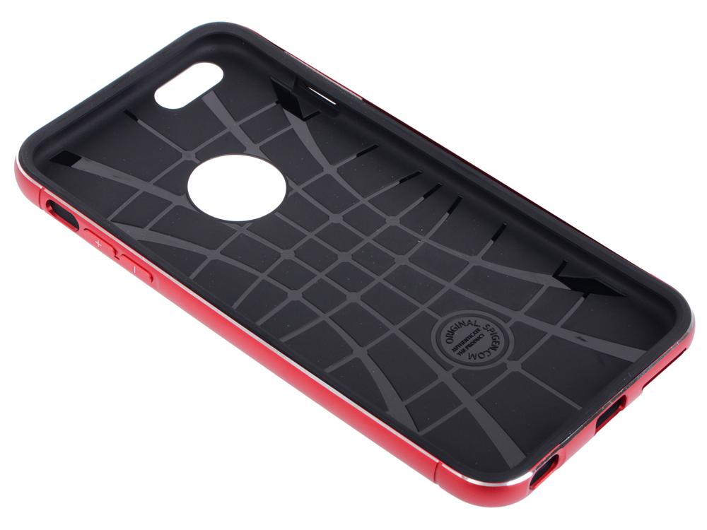 Бампер SGP Neo Hybrid Metal Case для iPhone 6S Plus iPhone 6 Plus красный SGP11073
