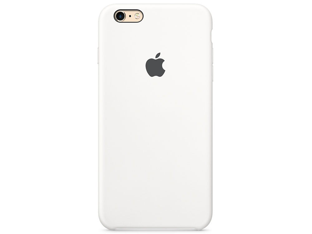 Чехол (клип-кейс) Apple Silicone Case для iPhone 6 Plus iPhone 6S Plus белый MKXK2ZM/A защитная пленка для iphone 6 plus 6s plus cellular line spefiph655