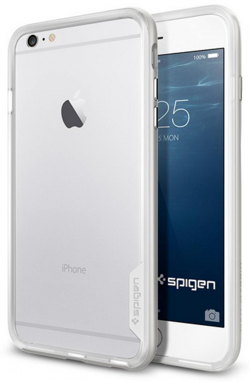 Бампер SGP Neo Hybrid EX Case для iPhone 6 Plus iPhone 6S Plus белый SGP11062