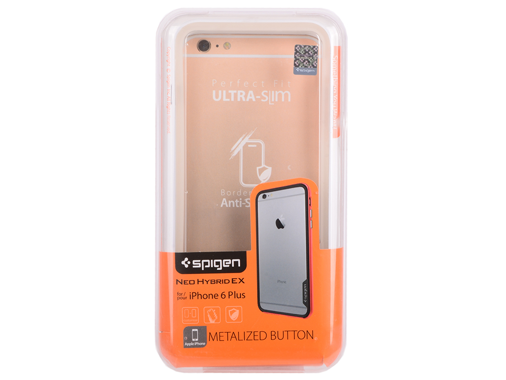 цена на Бампер SGP Neo Hybrid EX Case для iPhone 6 Plus iPhone 6S Plus белый SGP11062