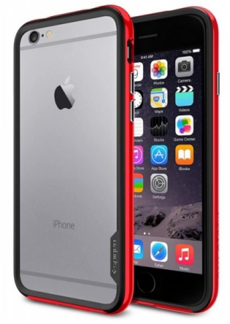 Бампер SGP Neo Hybrid EX Case для iPhone 6 Plus красный SGP11058