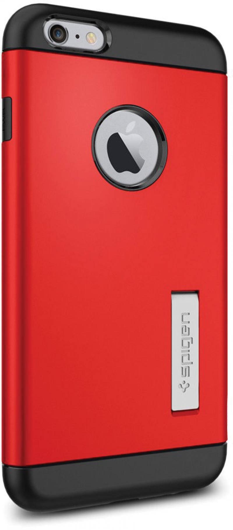 Чехол (клип-кейс) SGP Slim Armor Case для iPhone 6 Plus красный SGP10902 рюкзак sgp klasden2 красный sgp10549
