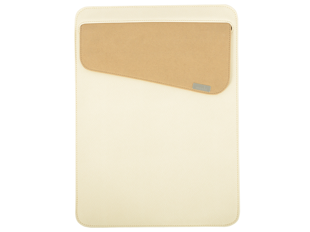 Чехол для ноутбука Apple MacBook 13. Материал микрофибра. Цвет: бежевый.