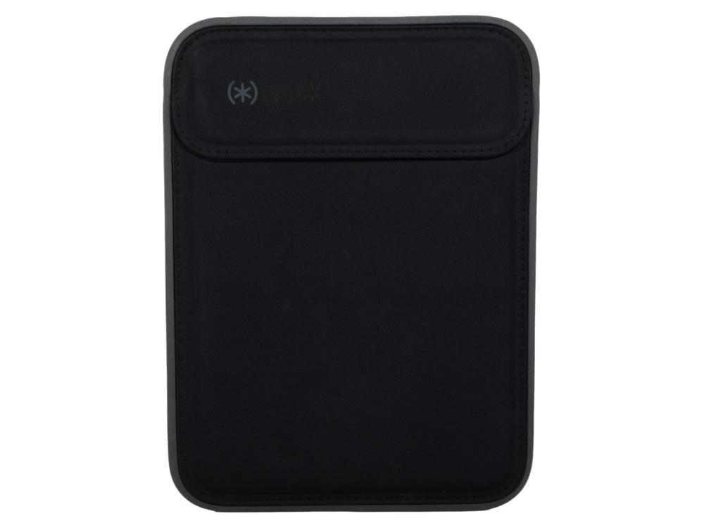 """Чехол Speck Flaptop Sleeve для ноутбука Apple Macbook 12"""". Материал нейлон. Цвет черный/серый.Цвет ч"""