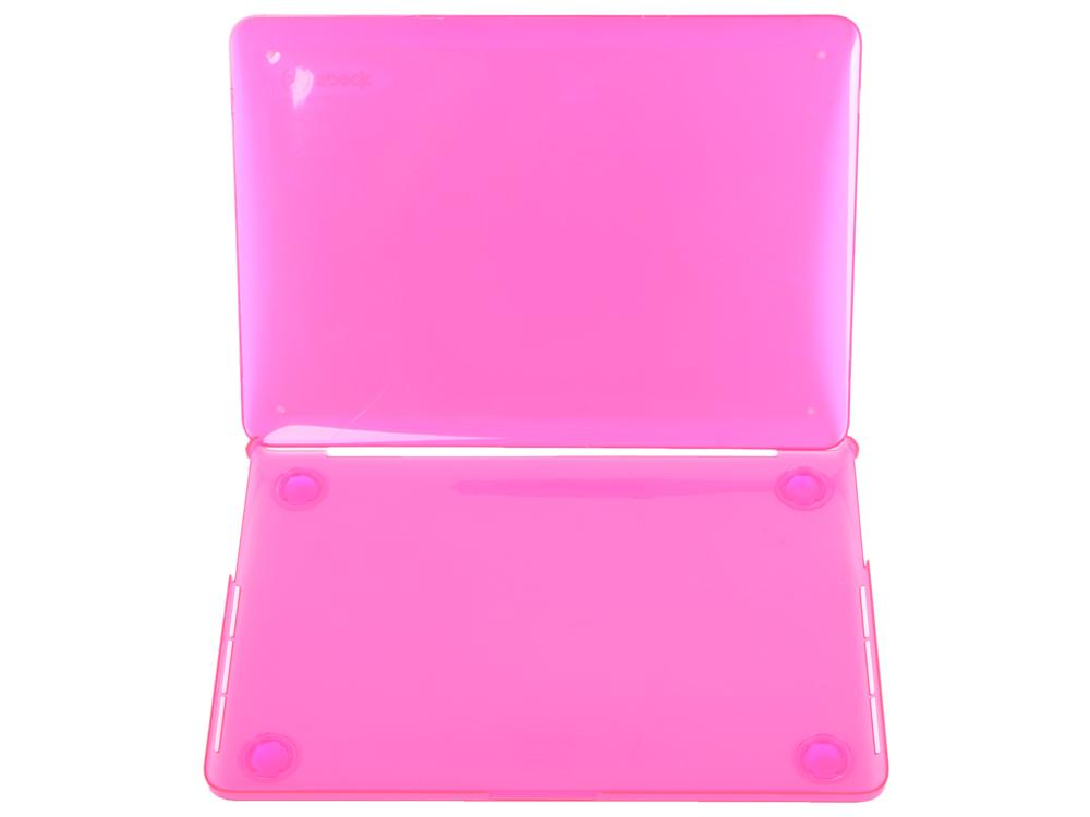 "Чехол-накладка Speck SeeThru для ноутбука Apple MacBook Pro Retina 13"". Материал пластик. Цвет: розо накладка speck seethru air 11 blue"