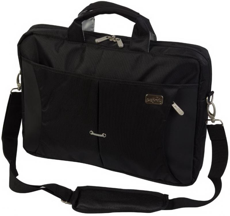 Cумка для ноутбука 15.6 PC Pet PCP-SL9015N нейлон черный сумка для ноутбука pc pet pcp a9015bk