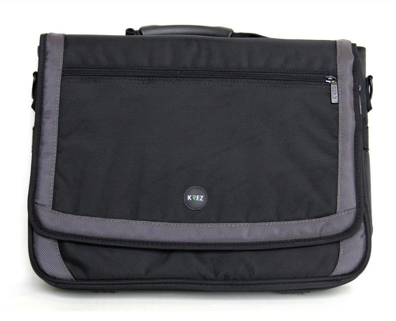 "Сумка для ноутбука 16"" KREZ M16-601B полиэстер черный"