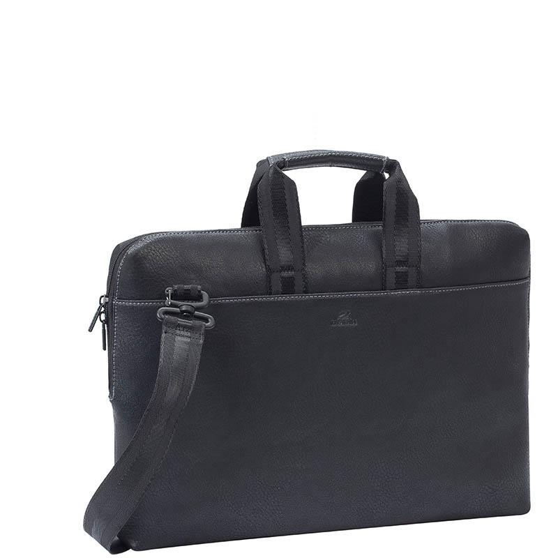 Сумка для ноутбука 15 Riva 8931 полиэстер черный
