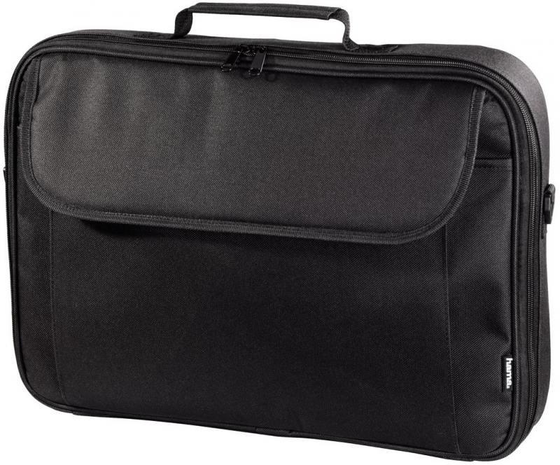 Сумка для ноутбука 15.6 Hama Sportsline Montego политекс черный H-101086 сумка для ноутбука 17 3 hama sportsline bordeaux черно серый полиэстер 101094