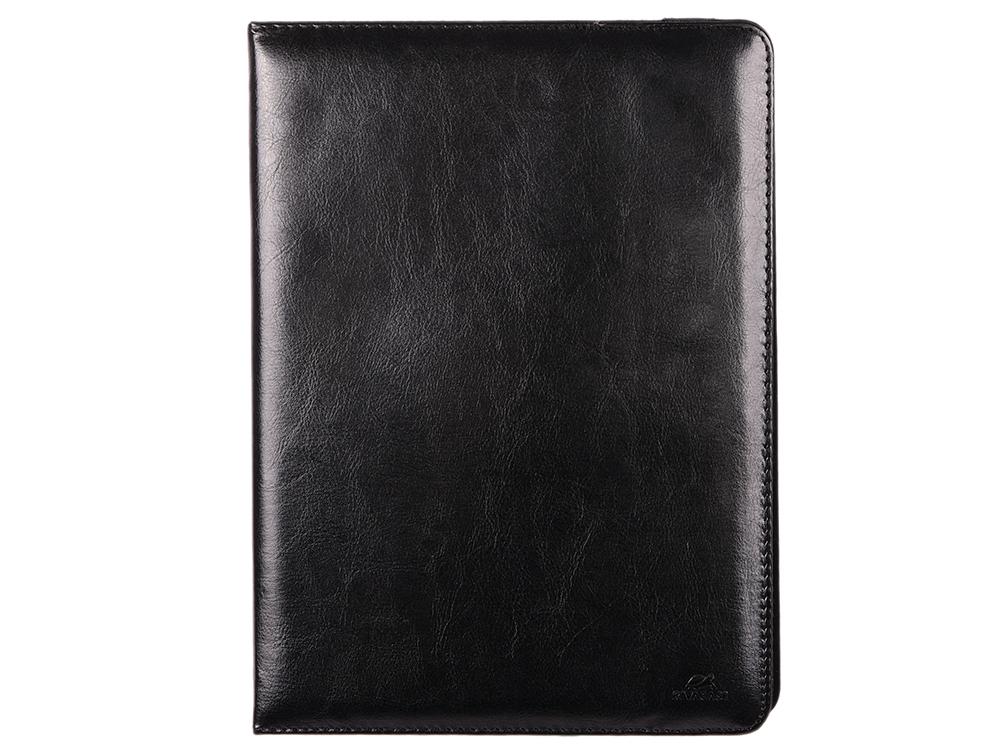 Чехол-книжка универсальный 9-10.1 RIVACASE 3007 Black флип, кожзаменитель