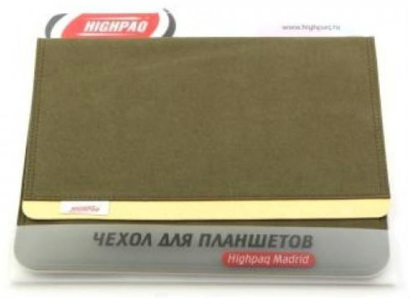 """Чехол Highpaq Madrid для планшетов 9.7 """" зеленый"""