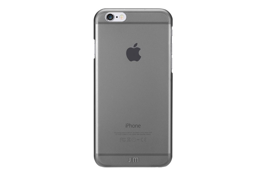 Чехол-накладка Just Mobile TENC для iPhone 6/6s Plus. Материал пластик. Цвет: черный матовый чехол накладка для iphone 6 ozaki o coat 0 3 jelly oc555tr пластик прозрачный