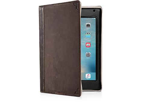 где купить Чехол-книжка Twelve South BookBook для iPad mini 4 коричневый 12-1518 дешево