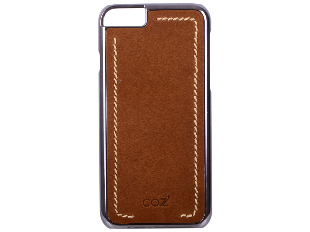 Чехол Cozistyle Leather Chrome Case для iPhone 6s черно-коричневый CLCC61220 cozistyle cozistyle smart case для iphone 6 6s