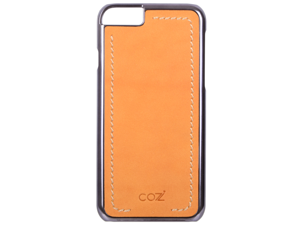 Чехол Cozistyle Leather Chrome Case для iPhone 6s черно-коричневый CLCC61820 cozistyle cozistyle smart case для iphone 6 6s