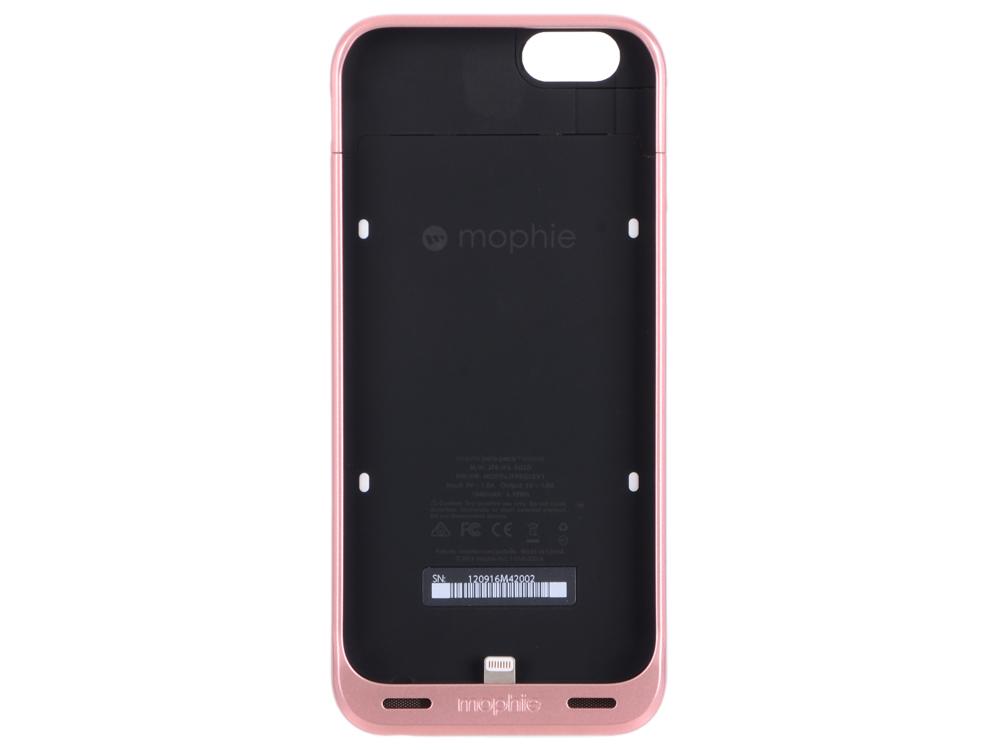 Чехол Mophie Juice Pack Reserve со встроенным аккумулятором для iPhone 6/6s. Емкость аккумулятора 18 накладка mophie hold force wallet для чехла mophie base case для iphone 7 синий оранжевый искусственная кожа пластик