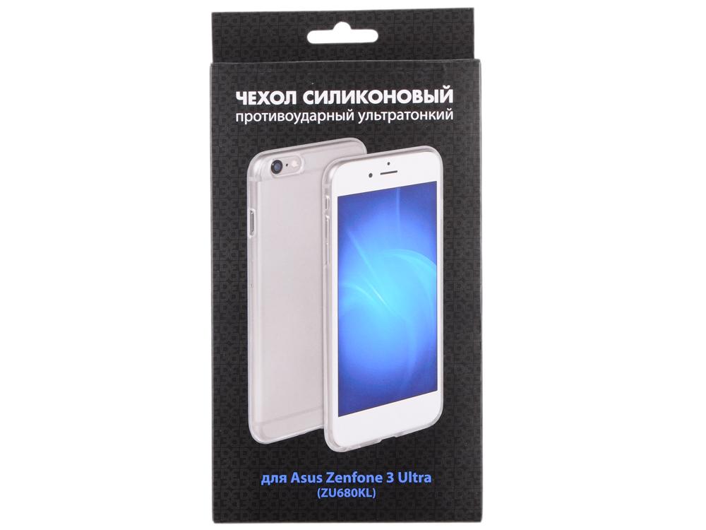 Силиконовый чехол для Asus Zenfone 3 Ultra (ZU680KL) DF aCase-25 чехол силиконовый супертонкий для asus zenfone zoom zx550 zx551ml df acase 08 белый
