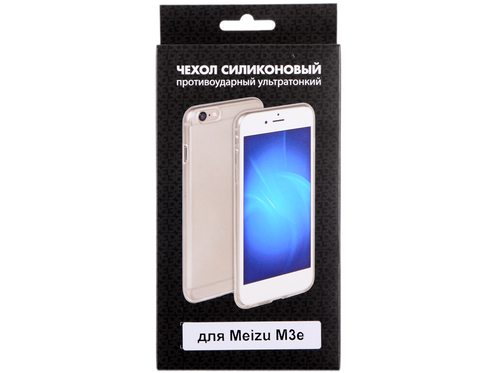 Силиконовый чехол для Meizu m3e DF mzCase-10 best for meizu m3e meilan e lcd display touch screen digitizer assembly replacement parts high quality with tools as gift