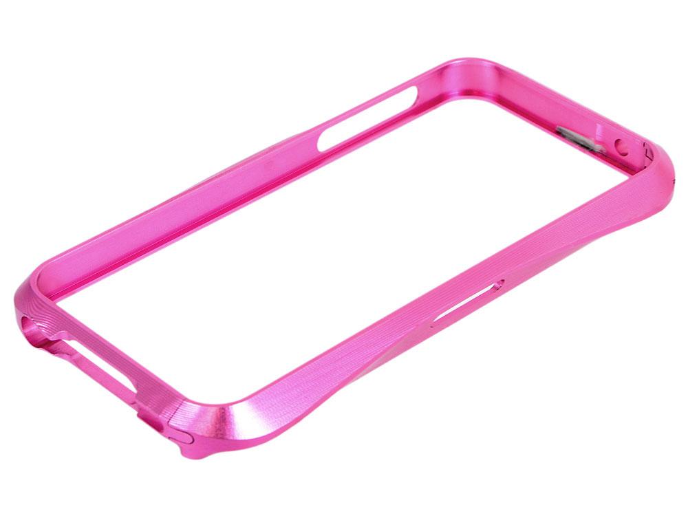 Бампер для iPhone 5/5S CLEAVE металл/винты (розовый) CD125890 iphone 5