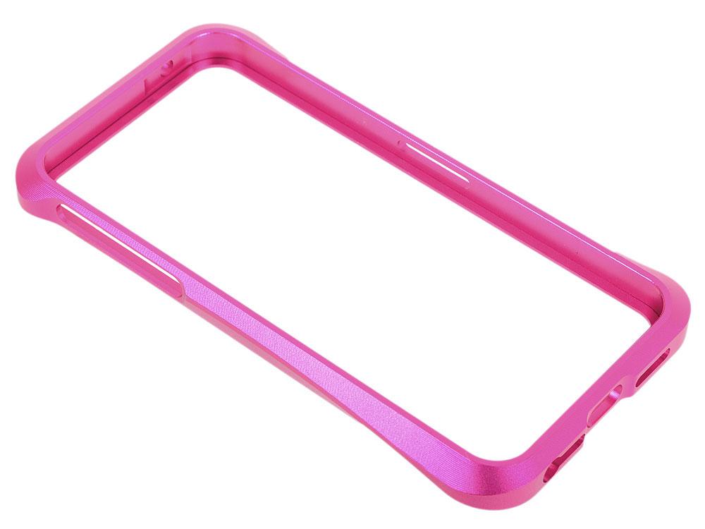 Бампер для iPhone 5/5S CLEAVE металл/раздвижной (розовый) CD125953 iphone 5