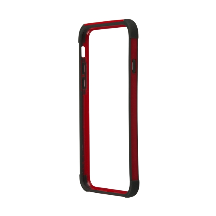бампер puro bumper для iphone 6 бирюзовый ipc647bumperacqua Бампер для iPhone 6/6s HOCO Coupe Series Double Color Bracket Bumper Case (красный) R0007515