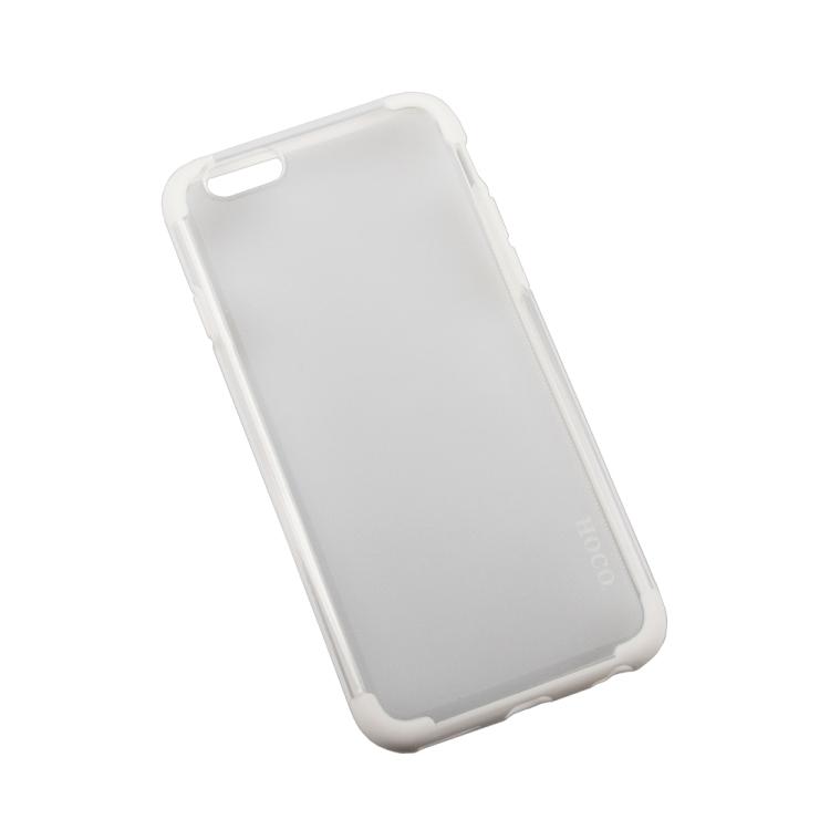 Бампер для iPhone 6/6s HOCO Steel Series Double Color PC + TPU Case (белый) R0007527 ld7530pl ld7530 sot23 6