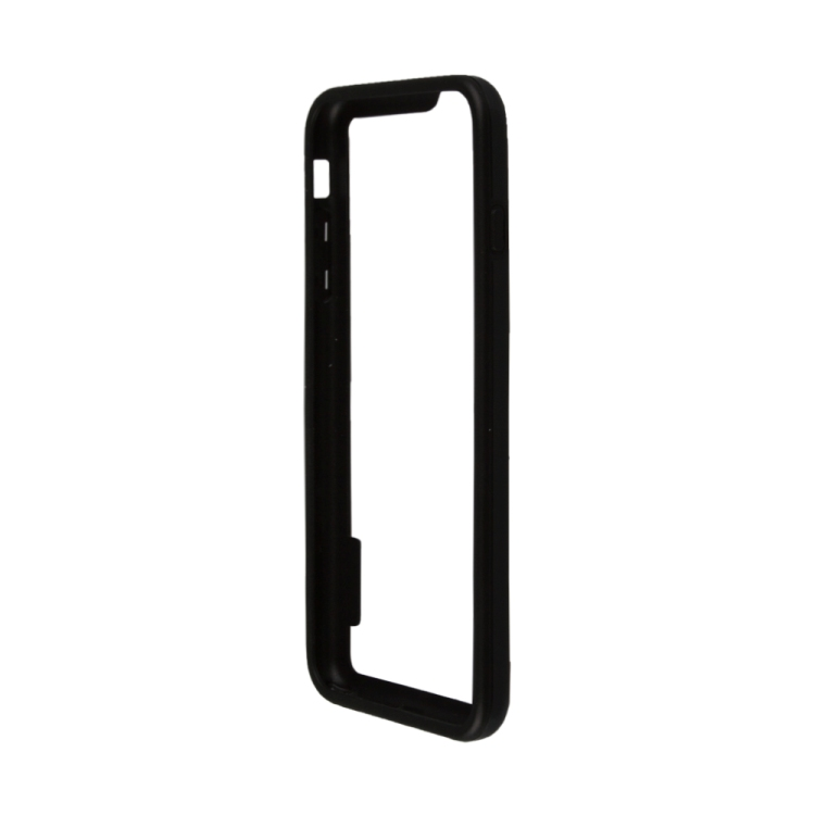 бампер puro bumper для iphone 6 бирюзовый ipc647bumperacqua Бампер для iPhone 6/6s Plus HOCO Coupe Series Double Color Bracket Bumper Case (черный) R0007619