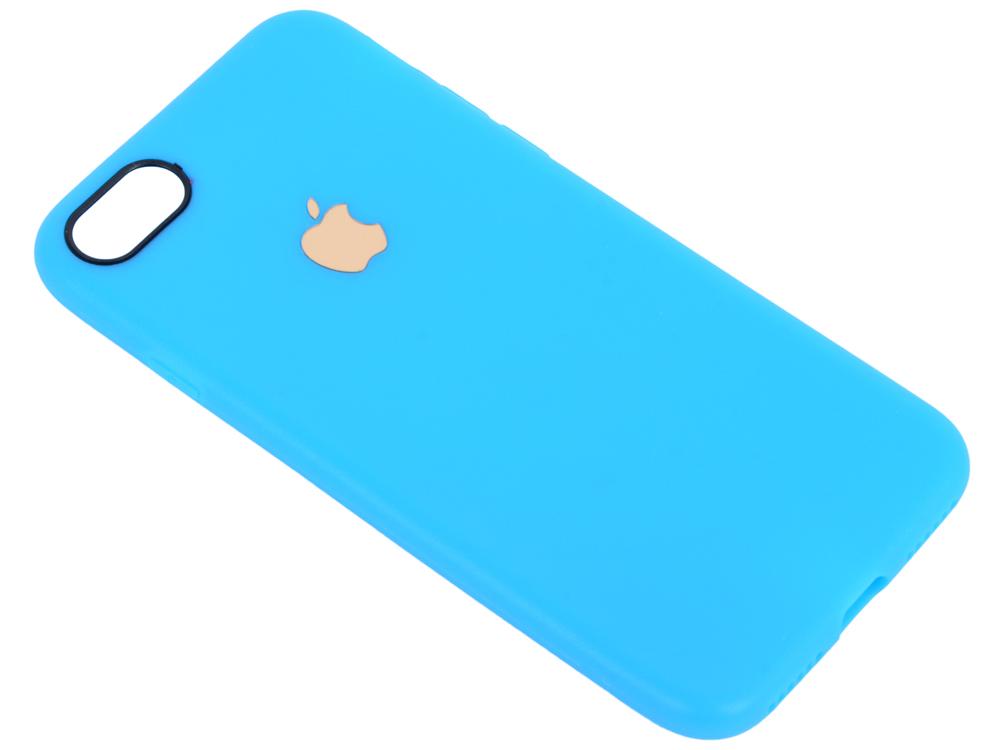 Чехол для смартфона iPhone 7 Leather TPU Case (голубой) 0L-00029829