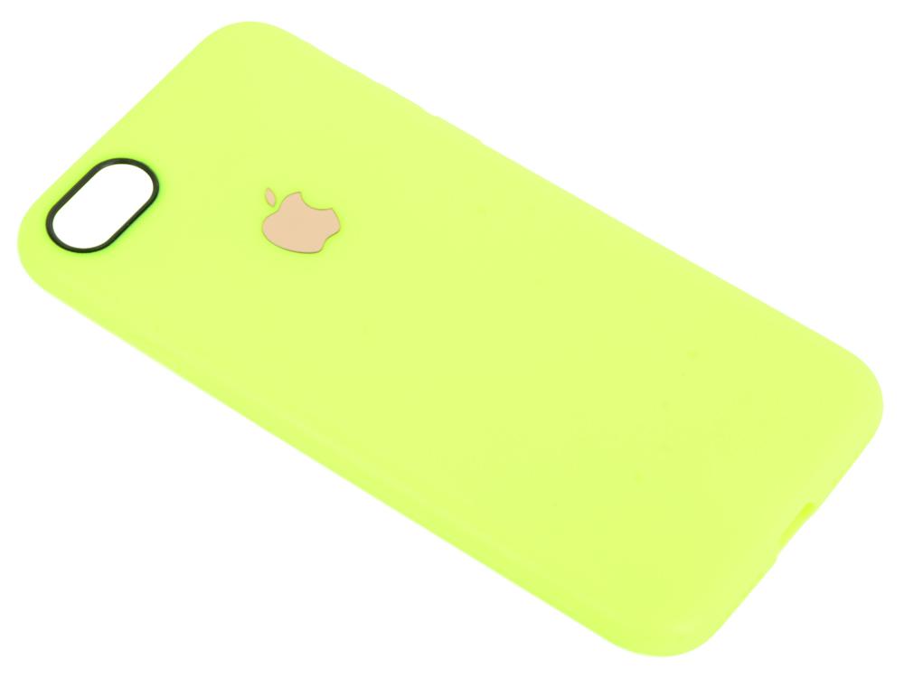 Чехол для смартфона iPhone 7 Leather TPU Case (желтый) 0L-00029825