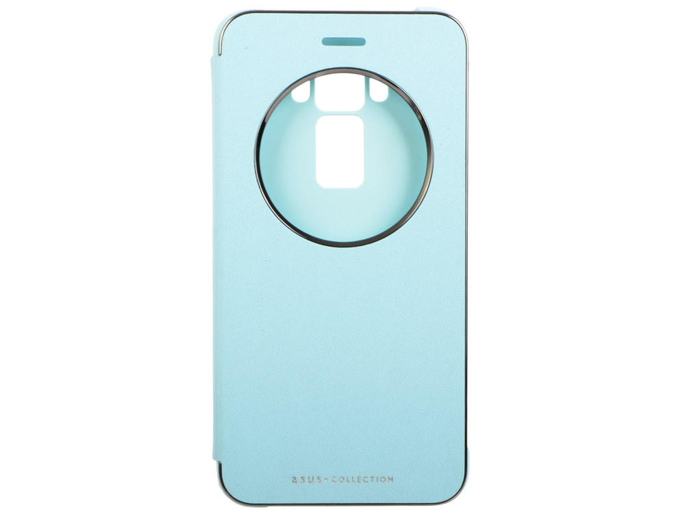 Чехол Asus для Asus ZenFone ZE520KL View Flip Cover голубой 90AC01D0-BCV012 чехол для asus zenfone 3 ze552kl asus view flip cover золотистый