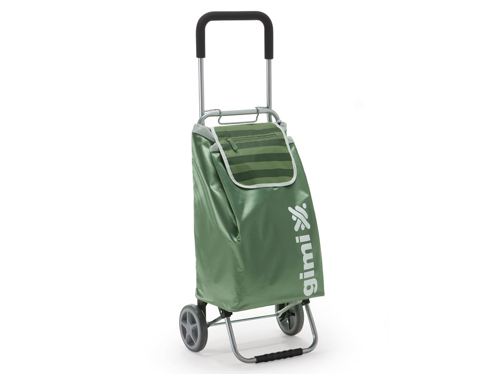 Сумка-тележка Gimi Flexi зеленый сумка тележка gimi easy синяя