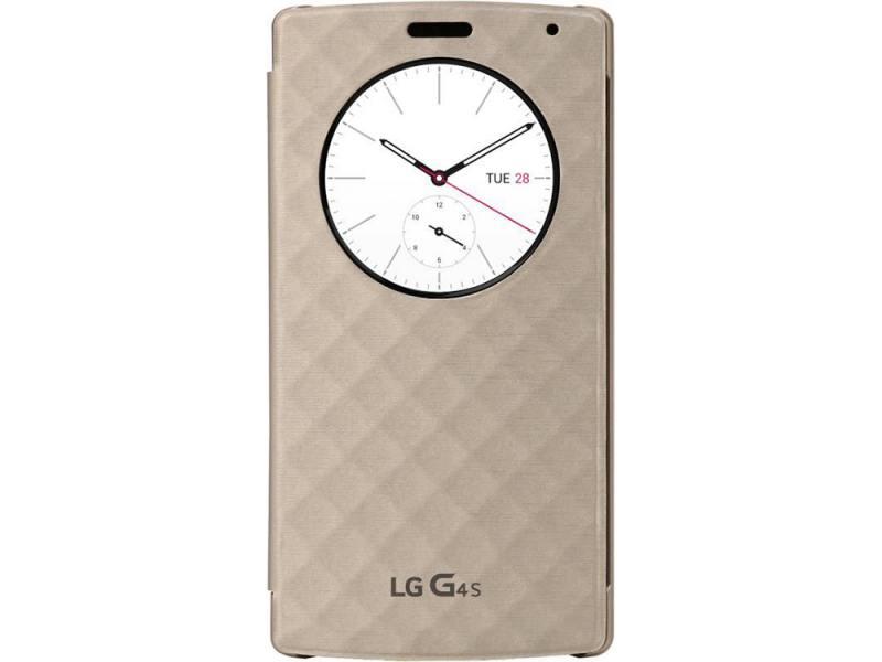 Чехол LG CFV-110.AGRAWH для LG G4s H736 Quick Circle белый смартфон lg g4s h736 titan
