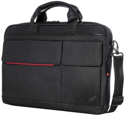 Сумка для ноутбука 14.1 Lenovo Professional Slim Topload Case черный 4X40H75820 сумка для ноутбука 15 6 lenovo thinkpad professional topload черный красный
