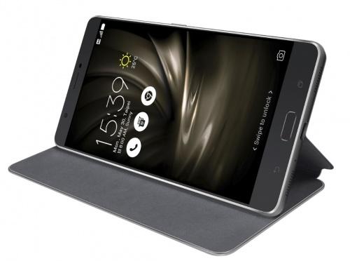 Чехол Asus для Asus ZenFone ZU680KL Folio Cover черный 90AC01I0-BCV001 asus zenfone zoom zx551ml 128gb 2016 black