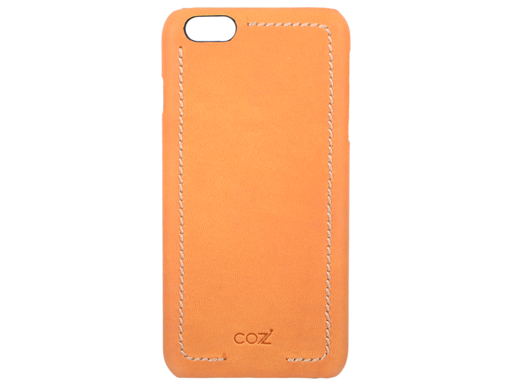 Накладка Cozistyle Leather Wrapped Case для iPhone 6S Plus коричневый CLWC6+018 cozistyle cozistyle smart case для iphone 6 6s
