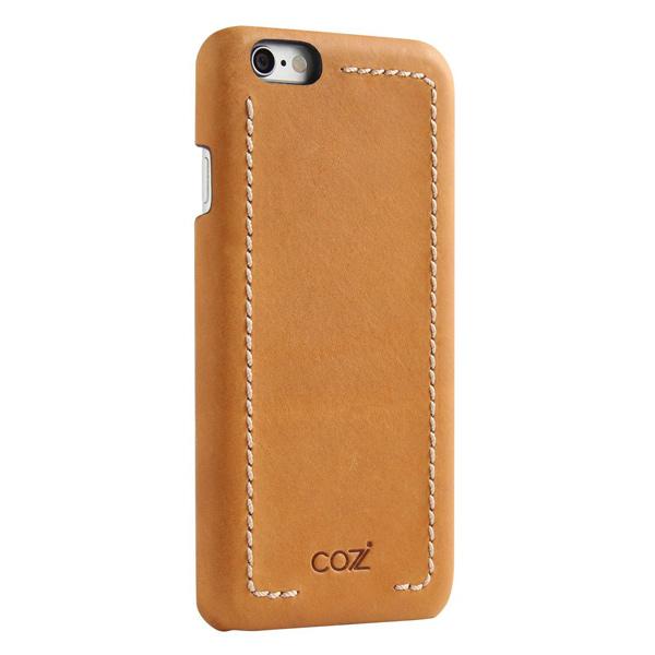 цена на Накладка Cozistyle Leather Wrapped Case для iPhone 6S Plus коричневый CLWC6+018